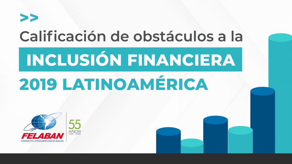 Calificación de obstáculos a la Inclusión Financiera