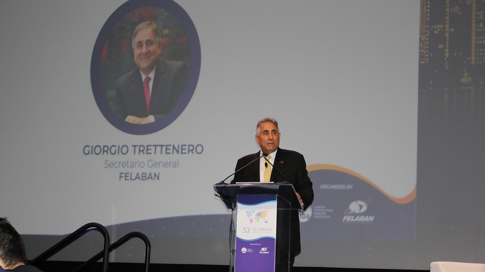 Palabras del Secretario General de FELABAN en la 53° Asamblea de FELABAN