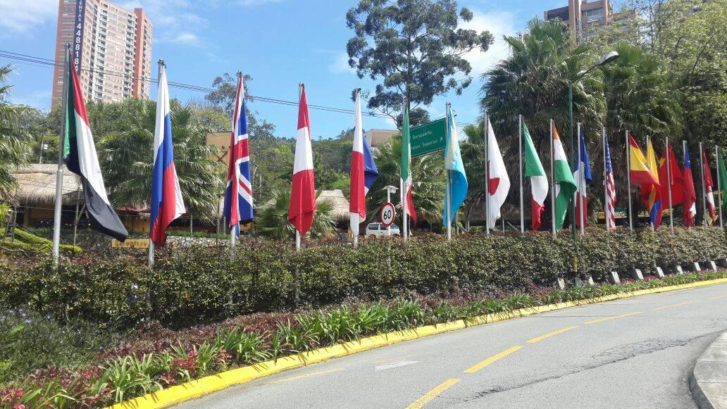 48 Asamblea Anual FELABAN Invitación de la Alcaldía de Medellín al público internacional Texto Alcalde de Medellín, Aníbal Gaviria Correa