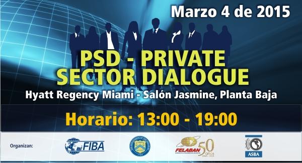 Reunión PSD - Diálogo Sector Privado / Público Estados Unidos
