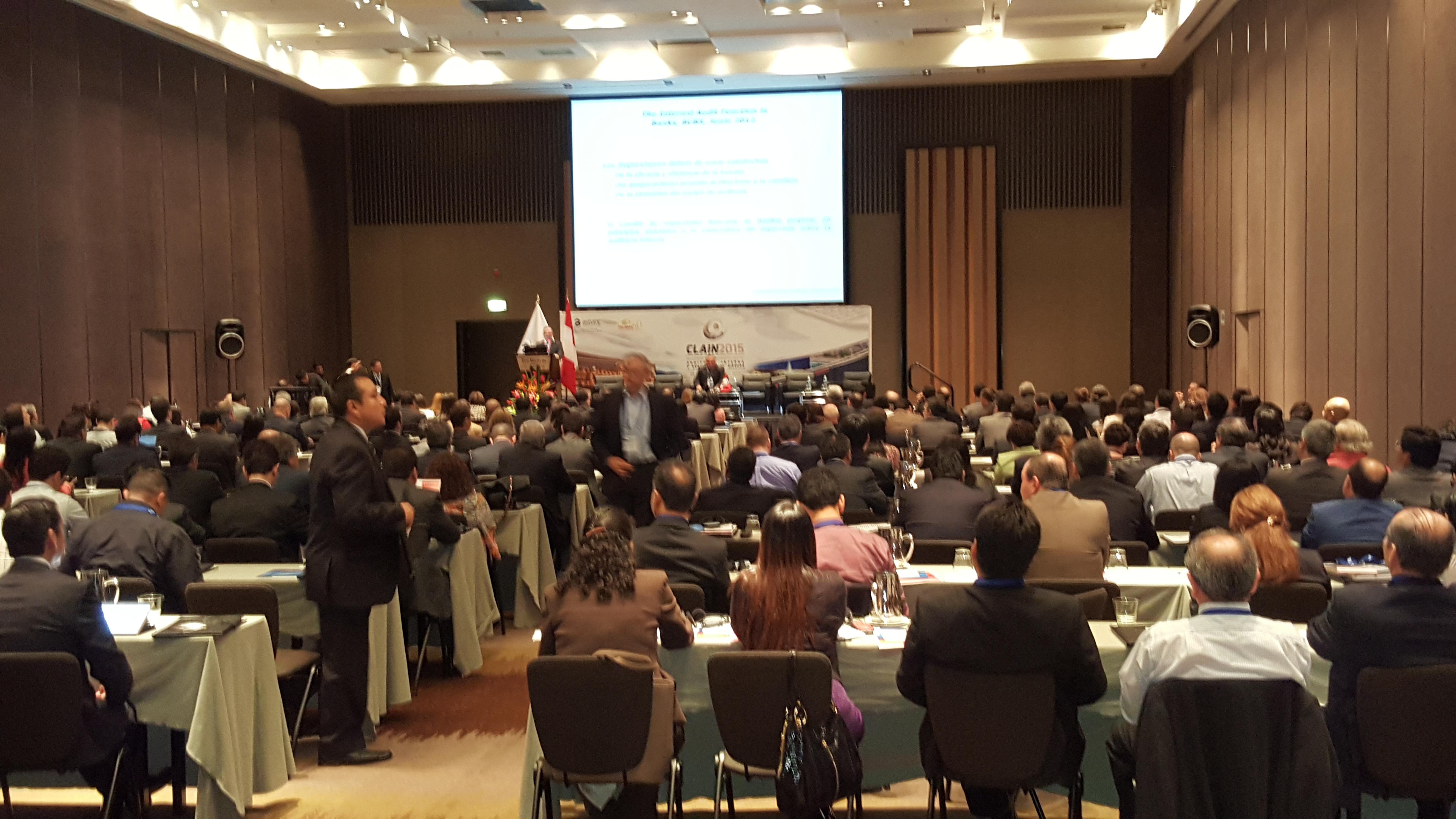 XIX Congreso Latinoamericano  de Auditoría Interna y Evaluación de Riesgos, CLAIN 2015