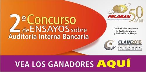 Resultados 2° Concurso de Ensayos sobre Auditoría Interna Bancaria - CLAIN