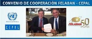 FELABAN Y CEPAL firmaron convenio de Cooperación