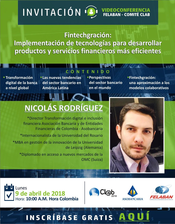 Fintechgración: Implementación de tecnologías para desarrollar productos y servicios financieros más eficientes