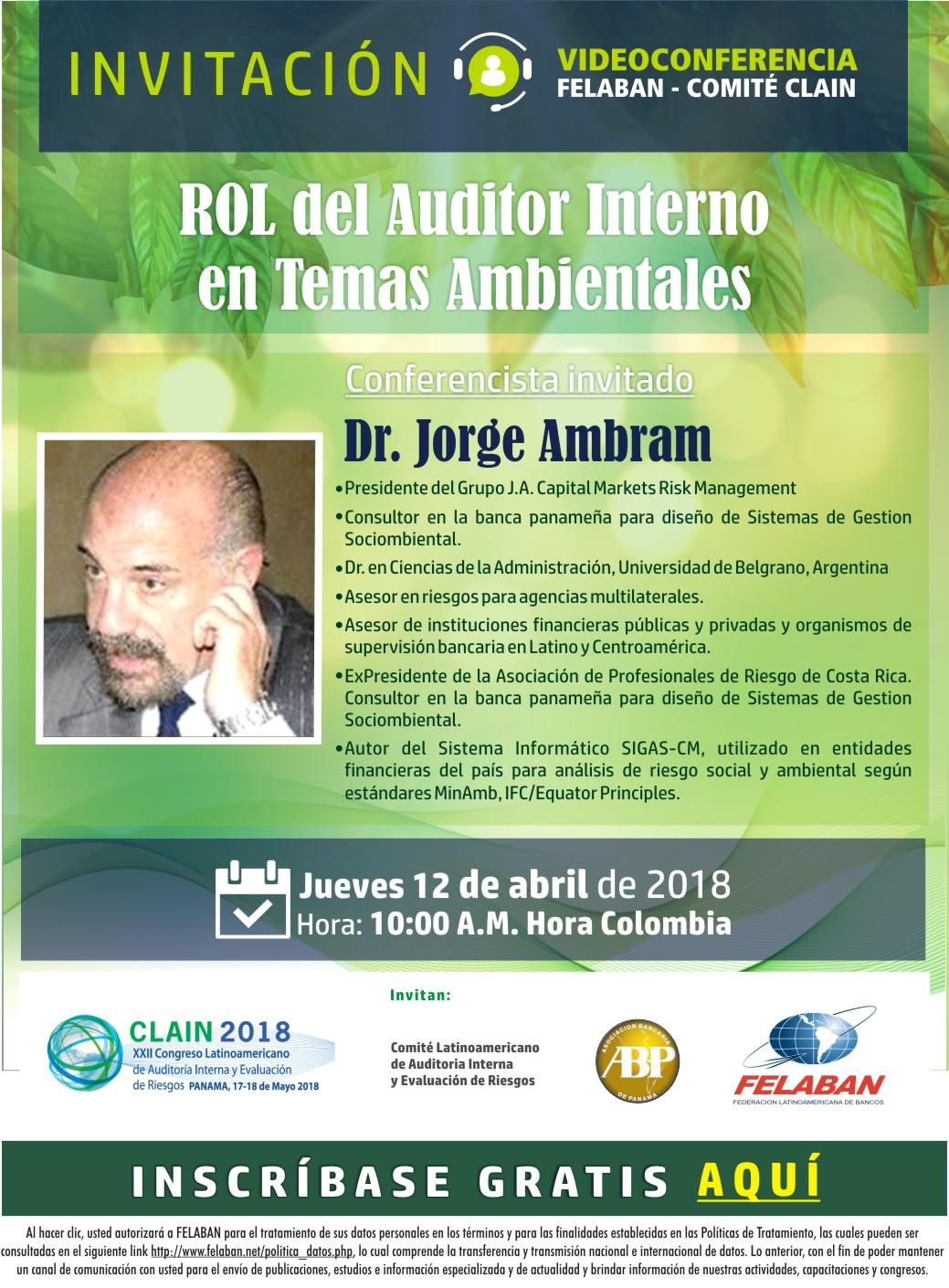 Rol del Auditor Interno en Temas Ambientales
