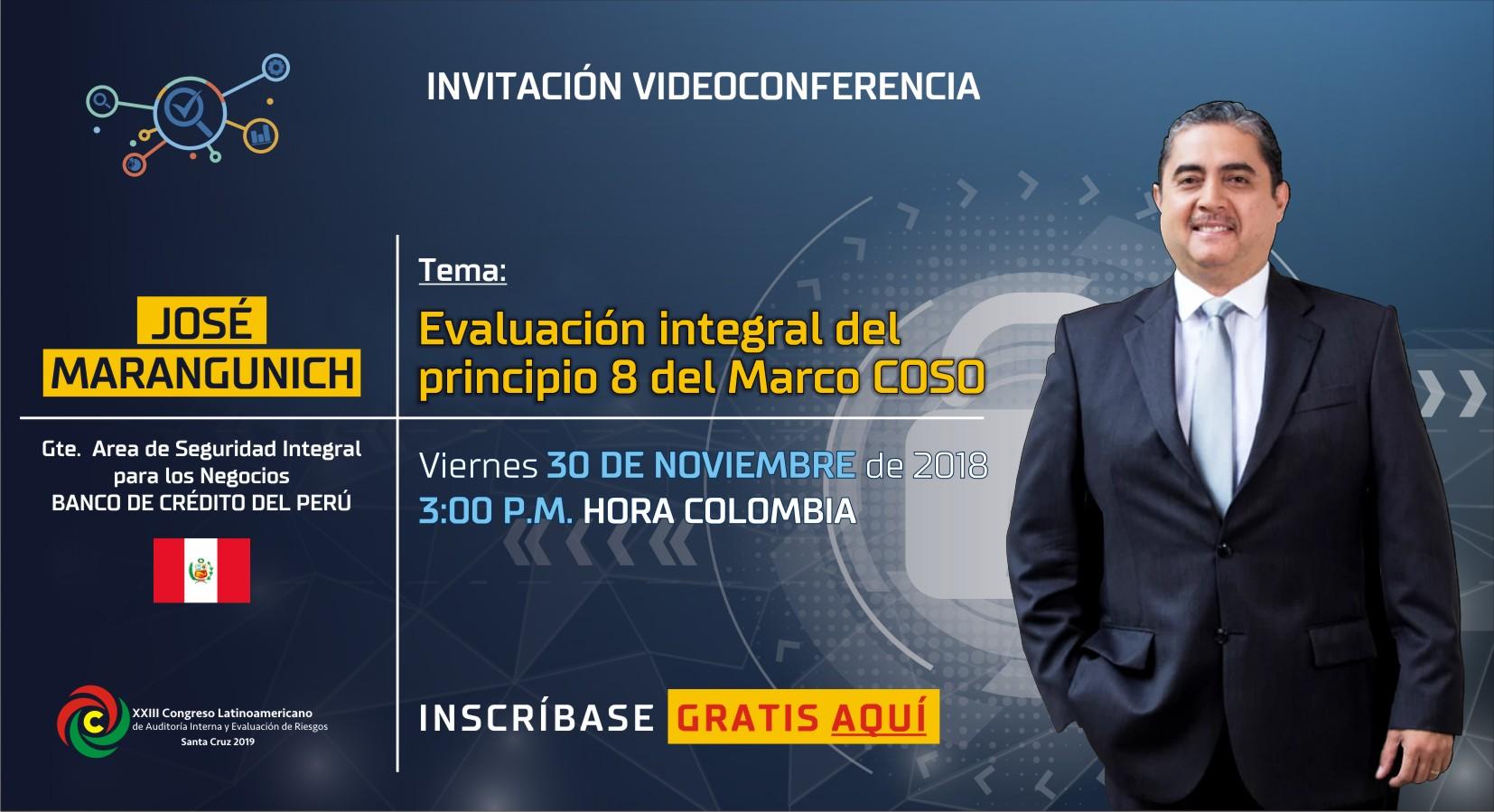 Evaluación Integral del principio 8 del Marco COSO