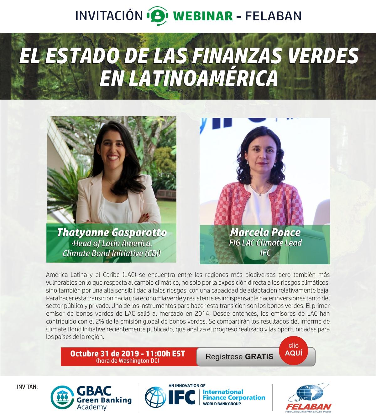 El estado de las finanzas verdes en latinoamerica
