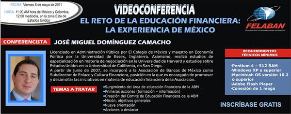 El Reto de la Educación Financiera: La Experiencia de México